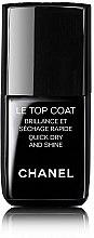 Parfums et Produits cosmétiques Top coat brillance et séchage rapide - Chanel Le Top Coat Nail Brilliance Et Quick Dry And Shine