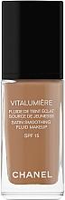Parfums et Produits cosmétiques Fond de teint mat - Chanel Vitalumiere Fluide De Teint Eclat
