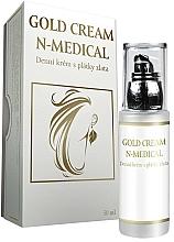 Parfums et Produits cosmétiques Crème à l'or et huile de macadamia pour visage - N-Medical Hyaluron Gold Cream