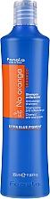 Parfums et Produits cosmétiques Shampooing anti-jaunissement au pigment bleu - Fanola No Orange Extra Blue Pigment Shampoo