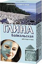 Parfums et Produits cosmétiques Argile bleue du Baïkal pour visage et corps - FitoKosmetik