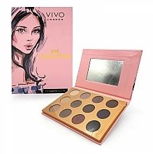 Parfums et Produits cosmétiques Palette d'ombres à paupières - Vivo London Eye Collection