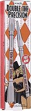 Parfums et Produits cosmétiques Kit (crayon à sourcils/0.08g + crayon à sourcils/0.04g) - Benefit Double Precisely My Brow Pencil