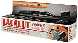 Parfums et Produits cosmétiques Set (dentifrice/75ml + brosse à dents, 1 pièce) - Lacalut White & Repair