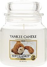 Parfums et Produits cosmétiques Bougie parfumée en jarre Couverture douce - Yankee Candle Soft Blanket