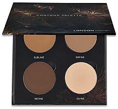 Parfums et Produits cosmétiques Palette de contouring - London Copyright Magnetic Face Powder Contour Palette