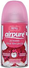 Parfums et Produits cosmétiques Recharge aérosol pour diffuseur de parfum automatique, Vrai romance - Airpure Air-O-Matic Refill True Romance