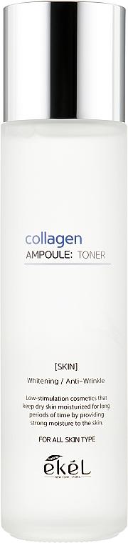 Lotion tonique au collagène - Ekel Collagen Ampoule Toner — Photo N2
