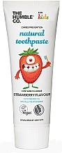 Parfums et Produits cosmétiques Dentifrice naturel,Fraise - The Humble Co. Natural Toothpaste Kids Strawberry Flavor