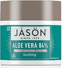 Parfums et Produits cosmétiques Crème au jus d'aloès 84% pour visage - Jason Natural Cosmetics Soothing Aloe Vera Moisturizing Crème