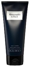 Parfums et Produits cosmétiques Abercrombie & Fitch First Instinct Blue - Gel douche corps et cheveux