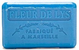 Parfums et Produits cosmétiques Savon végétal de Marseille, Fleur de lys - Foufour Savonnette Marseillaise Fleur de Lys