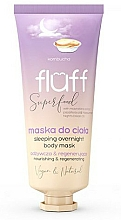 Parfums et Produits cosmétiques Masque pour corps - Fluff Superfood Kombucha Sleeping Overnight Body Mask