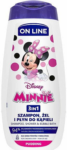 Shampooing, gel douche et mousse de bain - On Line Kids Disney Minnie
