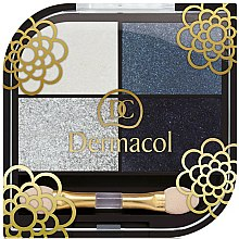 Parfums et Produits cosmétiques Fard à paupières, 4 couleurs - Dermacol Quattro