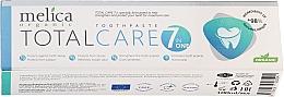 Parfums et Produits cosmétiques Dentifrice bio - Melica Organic Toothpaste Total Care 7