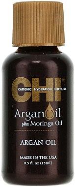 Traitement à l'huile d'argan sans rinçage pour cheveux - CHI Argan Oil Plus Moringa Oil (mini)