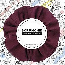 Parfums et Produits cosmétiques Chouchou, bordeaux, Suede Classic - MakeUp Hair Accessories