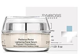 Parfums et Produits cosmétiques Sérum à la pivoine blanche pour visage - Symbiosis London Radiance Revive Lightening Facial Serum