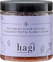 Parfums et Produits cosmétiques Gommage naturel à l'huile de prune et jojoba pour corps - Hagi Scrub