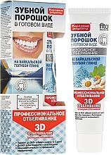 Parfums et Produits cosmétiques Pâte blanchissante 3D à l'argile bleue de Baïkal pour les dents - FitoKosmetik