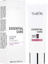 Parfums et Produits cosmétiques Crème apaisante au panthénol et allantoïne pour visage - Babor Essential Care Sensitive Cream