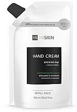 Parfums et Produits cosmétiques Crème aux ions d'argent pour mains, Bergamote et Rhubarbe - HiSkin Bergamot & Rhubarb Hand Cream Refill Pack (recharge)