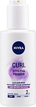 Parfums et Produits cosmétiques Base thermoprotectrice pour cheveux bouclés - Nivea Styling Primer Curl