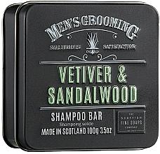 Parfums et Produits cosmétiques Shampooing solide Vétiver et Bois de santal - Scottish Fine Soaps Mens Grooming Vetiver & Sandalwood Shampoo Bar