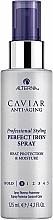 Parfums et Produits cosmétiques Spray thermo-protecteur lissant à l'extrait de caviar noir pour cheveux - Alterna Caviar Anti-Aging Perfect Iron Spray