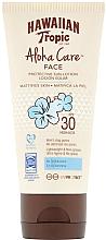 Parfums et Produits cosmétiques Lotion solaire pour visage - Hawaiian Tropic Aloha Care Protective Lotion SPF30