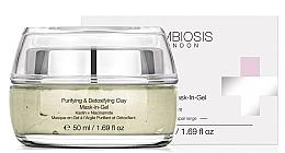 Parfums et Produits cosmétiques Masque-gel au kaolin et niacinamide pour visage - Symbiosis London Purifying & Detoxifying Clay Mask-In-Gel
