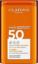 Parfums et Produits cosmétiques Stick solaire aux antioxydants - Clarins Stick Solaire Invisible SPF50