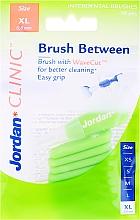 Parfums et Produits cosmétiques Brossettes interdentaires 0,8 mm, XL - Jordan Interdental Brush Clinic Brush Between