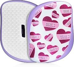 Parfums et Produits cosmétiques Brosse à cheveux compacte - Tangle Teezer Compact Styler Girl Power