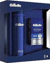 Parfums et Produits cosmétiques Kit de rasage - Gillette (lotion après-rasage/50ml + gel de rasage/200ml)