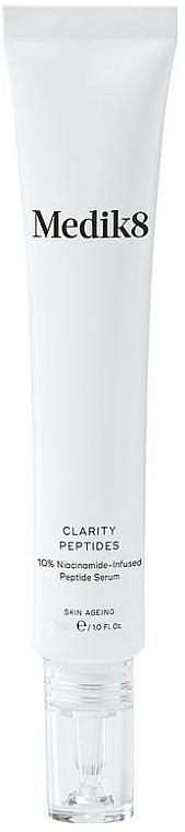 Sérum à la niacinamide pour visage - Medik8 Clarity Peptides Serum