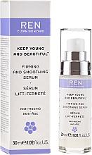 Parfums et Produits cosmétiques Sérum à l'extrait de ginseng pour visage - Ren Keep Young and Beautiful Smoothing Serum
