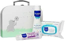 Parfums et Produits cosmétiques Coffret cadeau - Mustela With Love (wipes/25szt + b/gel/200ml + cr/50ml + bag)