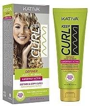 Parfums et Produits cosmétiques Crème activateur de boucles sans rinçage - Kativa Keep Curl Definer Leave In Cream