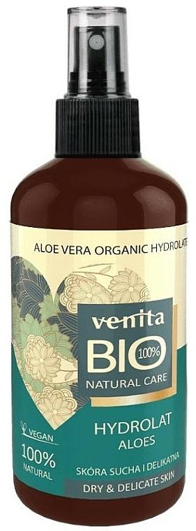 Hydrolat d'aloe vera bio - Venita Bio Natural Care Hydrolat Aloe