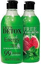 Parfums et Produits cosmétiques Gel douche bio énergisant, Pastèque et Menthe - Body Boom Fresh Energy