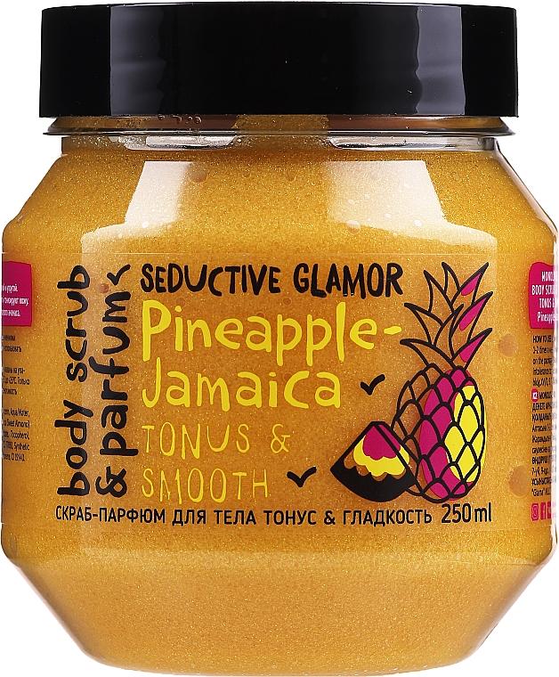Gommage au poudre pour corps - MonoLove Bio Pineapple-Jamaica Tonus & Smoothness Scrub
