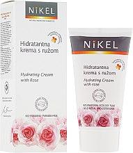 Parfums et Produits cosmétiques Crème à l'eau de rose de Damas pour visage - Nikel Hydrating Cream with Rose