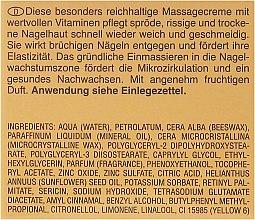 Crème de massage pour ongles et cuticules - Artdeco Nail Massage Cream — Photo N3