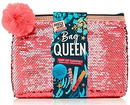 Parfums et Produits cosmétiques Coffret cadeau - Dirty Works Queen Night Out Essentials (lip/stick/2.8ml + b/spray/10ml + nail/file/1pcs + bag)