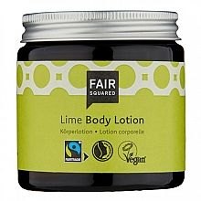 Parfums et Produits cosmétiques Lotion végan pour corps, Lime - Fair Squared Body Lotion Lime