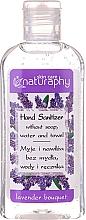 Parfums et Produits cosmétiques Gel désinfectant pour mains, Lavande (mini) - Bluxcosmetics Naturaphy Alcohol Hand Sanitizer With Lavender Fragrance