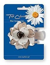 Parfums et Produits cosmétiques Pince à cheveux 24375, blanc-beige - Top Choice