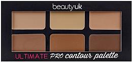 Parfums et Produits cosmétiques Palette contouring - Beauty UK Ultimate PRO Contour Palette